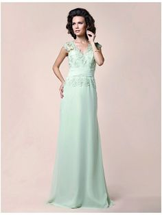 Green for the Mother of Groom Dresses