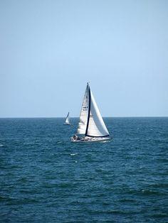 Sail boat -- Marina Del Rey, CA 2013