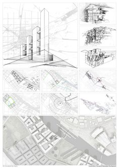 The RIBA President's Medals Student Awards ::  Salford Eco City | Centralised City Towers by Tony O'Meara - Liverpool John Moores University Liverpool UK