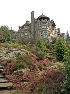 victorian garden rockery - Google Search