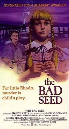The Bad Seed (1956) - Review, rating and Trailer
