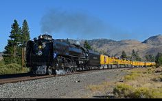 RailPictures.Net Photo: UP 844 Union Pacific Steam 4-8-4 at Verdi, Nevada by Ben Kletzer