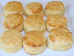Cheddar cheese baking powder biscuits whats-for-breakfast Baking Powder Biscuits, What's For Breakfast, Bread N Butter, Cheddar Cheese, Vanilla Cake, Muffins, Rolls, Appetizers, Favorite Recipes