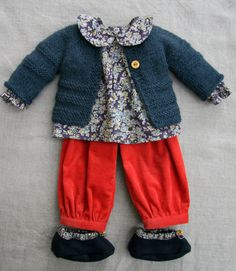 Petit Gosset Doll Outfit for 18-19 inch Dolls