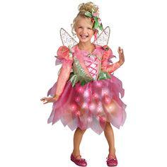 Pink Petal Princess Light Up Toddler Halloween Costume