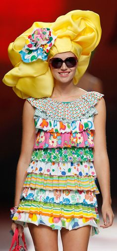 Cool Chic Style Fashion: Agatha Ruiz de la Prada 2011 Settimana della moda di Madrid | The House of Beccaria
