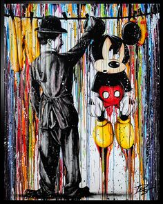 Julien Durix Spruced up Graffiti Art, Graffiti Wallpaper, Cartoon Wallpaper, Mickey Mouse Wallpaper Iphone, Cute Disney Wallpaper, Disney Artwork, Disney Drawings, Mickey Mouse Kunst, Minnie Mouse