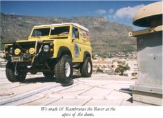 Landy on top of Good Hope Centre Cape Town