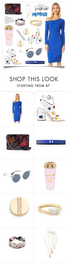 """Sheath Dress..**"" by yagna ❤ liked on Polyvore featuring Under Armour, Kendra Scott, DANNIJO and Madewell"