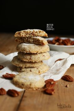 Butter Pecan Cookies | Bake to the roots