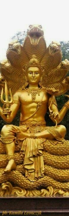 Lord Shiva - Har Har Mahadev Jai Shankar #lordshiva#shiva#gold#india#sculpture