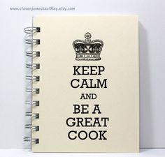 Hoi! Ik heb een geweldige listing gevonden op Etsy http://www.etsy.com/nl/listing/123822873/journal-notebook-recipe-book-keep-calm