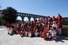 """Hordae Nostrum au Pont du Gard - """"On dirait le Sud"""" le 23 mai sur France 3 LR"""