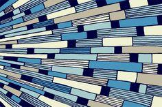 Contemporary Rugs, Prism in Ocean