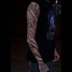 Shredded Steel Full Sleeve by Pavel Roch