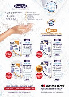 Zapraszamy do skorzystania z bogatej oferty #ręczników #składanych #BulkySoft. https://www.higienaserwis.pl/produkty-bulkysoft/reczniki-skladane