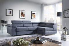 Narożnik Toronto firmy CrisTap. Toronto, Couch, Interior Design, Poland, Furniture, Home Decor, Living Room, Nest Design, Settee