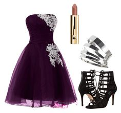 """Pretty in purple"" by lorena-cuttler on Polyvore featuring Michael Kors and Topshop"