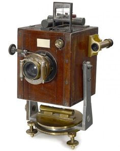Unusual and rare Photo-Theodolite by Troughton & Simms, c1901.
