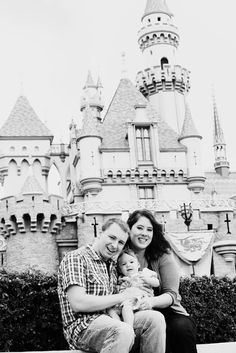 Family photos at Disneyland - Baby Trip Report: Eva Goes to Disneyland (Part Nine) | The Ever Clever Mom