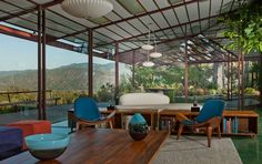 Timber House by Rodney Walker - interior