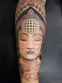Amazing Buddhist tattoo