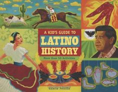 A Kid's Guide to Latino History: More than 50 Activities | A book for the Hispanic Heritage Month! It features more than 50 hands-on activities, games, and crafts that explore the diversity of Latino culture and teach children about the people, experiences, and events that have shaped Hispanic American history. #HispanicHeritageMonth