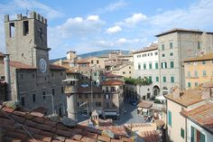 "Cortona, Italy. Location for the italian film ""La Vita e Bella""."