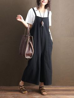 Women's Clothing Candid 2019 Summer Zanzea Women Sleeveless Harem Rompers Loose Solid Jumpsuits Drop Crotch Overalls Robe Suspenders Casual Female Pants