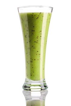 Banana Grape Green Smoothie (believe me, you don't taste the kale....can substitute spinach for the kale)