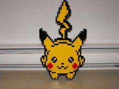 Pikachu out of Legos Lego Pokemon, Pokemon Party, My Pokemon, Pokemon Stuff, Lego Wall, Lego Blocks, Lego Worlds, Cool Lego Creations