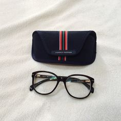 NWOTTommy Hilfiger Round Plastic Glasses Tommy Hilfiger TH1033 086 140 glasses. Never worn. They do have prescription lenses in them at the moment, received as a present but they don't suit me. But I'm sure they'd look great on you these frames are no longer in production, so they are very hard to find! Tommy Hilfiger Accessories Glasses