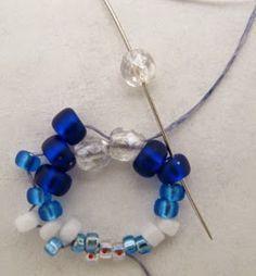 MyAmari: Alternating Cellini Spiral Bracelet Beadweaving Pattern