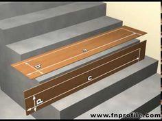 beispiele zur treppenrenovierung einfach alte treppen neu belegt mit laminat vinyl oder. Black Bedroom Furniture Sets. Home Design Ideas
