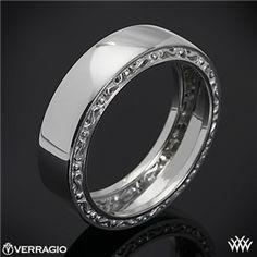 Verragio High Polish Men's Wedding Ring available at Wm. MarKen Jewelers www.wmmarken.com