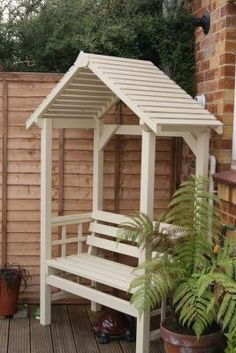 Pergola Kits Home Depot Diy Pergola, Pergola Planter, Pergola Kits, Small Garden Landscape Design, Modern Gazebo, Garden Bench Plans, Backyard Swings, Outside Seating, Corner Garden
