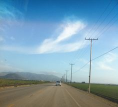 South Las Posas Road, Camarillo, CA, on the way toward the ocean and Cal State University Channel Islands.