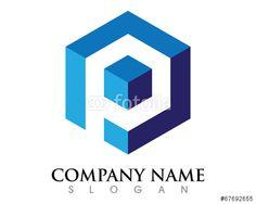 Generic & overused logo designs - P Box Logo