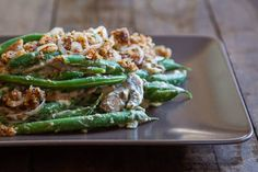 Special Green Bean Casserole | This side dish recipe is vegan, paleo, and gluten-free!