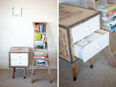 cool idea with the wooden box