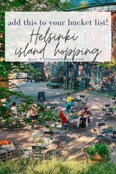 Do you want to have the most amazing day on your Helsinki visit? Then you must do the Helsinki island hopping tour! Read this for how to make it happen! #helsinki #finland #suomi #travel Backpacking Europe, Europe Travel Guide, Travel Guides, Travel Destinations, Finland Travel, Travel Through Europe, Places In Europe, European Destination, Group Travel
