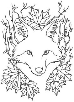 Nocturnus - Fox design (UTH12061) from UrbanThreads.com