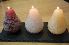 Naturkerzen - zur Aufhellung der Stimmung bei dunklem, nasskaltem Wetter  Pflanzlich und sicher - tropffreie Kerzen aus nachwachsenden Rohstoffen.  http://www.econanda.de/Naturkerzen/Birnenkerzen/Vance-Kitira-Birnen-Kerzen-Set-Collection-1.html