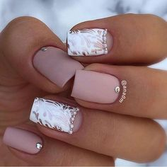24 Images Of Summer Nail Designs 2020 Images Of Summer Nail Designs . 24 Images Of Summer Nail Designs 99 Beautiful Nail Art Design Ideas to Try In Summer 2019 Short Nail Designs, Nail Art Designs, Nails Design, Matte Nails, Pink Nails, Gorgeous Nails, Pretty Nails, Hair And Nails, My Nails