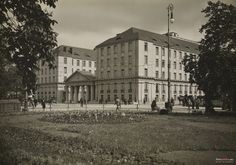 Dyrekcja Kolei Państwowych, Warszawa - 1934 rok, stare zdjęcia