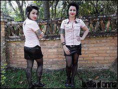 Lojabelladonna: Camisa feminina western Dolly Parton