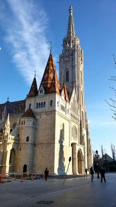 – Budapest Matthias Church this is where the Black Madonna is Places To See, Places To Travel, Sacred Architecture, Cathedral Church, Old Churches, Chapelle, Place Of Worship, Kirchen, Best Cities