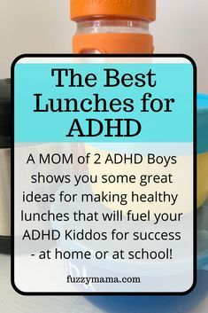 Need help figuring out what to give your ADHD Kiddo for lunch? Use my easy step by step formula to create easy, ADHD Diet friendly school lunches to set your kids up for success. Adhd Odd, Adhd And Autism, Healthy School Lunches, Healty Lunches, Kid Lunches, Adhd Facts, Adhd Help, Adhd Diet