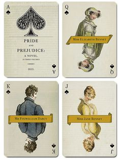 John Eric Ligon is raising funds for Jane Austen Playing Cards on Kickstarter! A fully custom deck of playing cards inspired by Jane Austen's well-loved novels and characters, and rich in authentic period detail. Miss Elizabeth, Elizabeth Bennet, Hanoverian Kings, History Taking, Masterpiece Theater, Jane Austen Books, Custom Decks, Card Companies, Pride And Prejudice