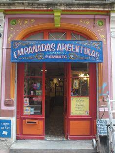 Bar con Fileteado, Buenos Aires, Argentina